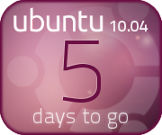 Aubergine countdown banner