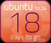 Orange countdown banner